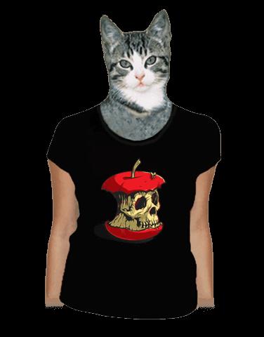 Dead Apple černé dámské tričko