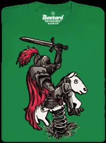 Bastard Rytíř zelené pánské tričko