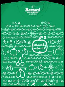 Bastard Matematik zelené dámské tričko