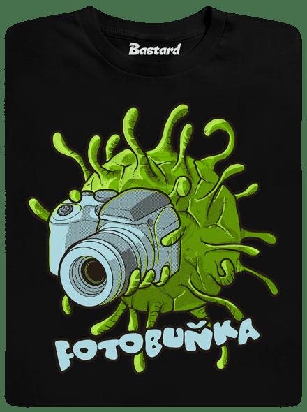 Bastard Fotobuňka černé pánské tričko