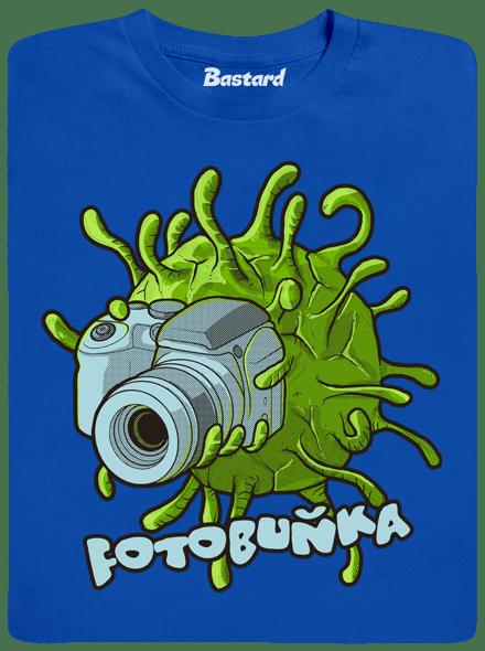 Bastard Fotobuňka modré pánské tričko - nový střih