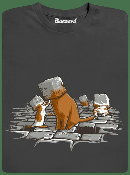 Bastard Kočičí hlavy pánské tričko