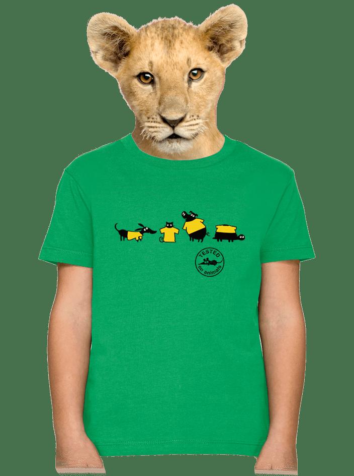 Testováno dětské tričko