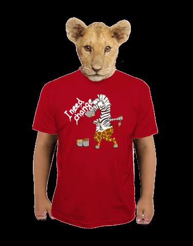 Změna dětské tričko
