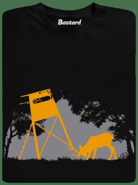 Bastard Lesní harmonie černé pánské tričko - nový střih