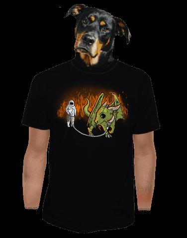 Venčení draka pánské tričko