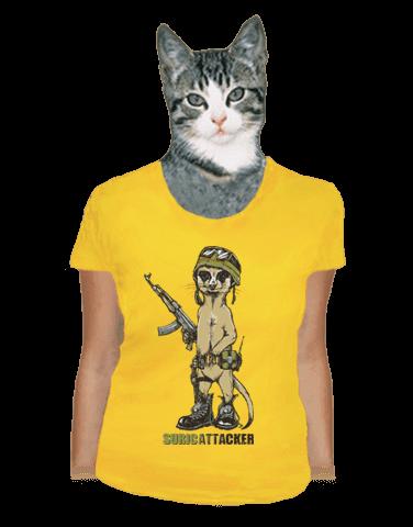 Surikata dámské tričko