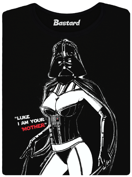 Bastard Mrs. Vader dámské tričko