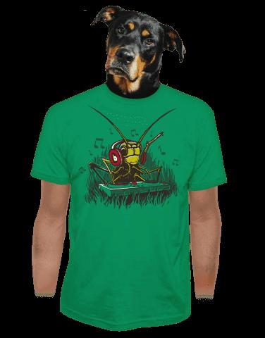 DJ cvrček pánské tričko