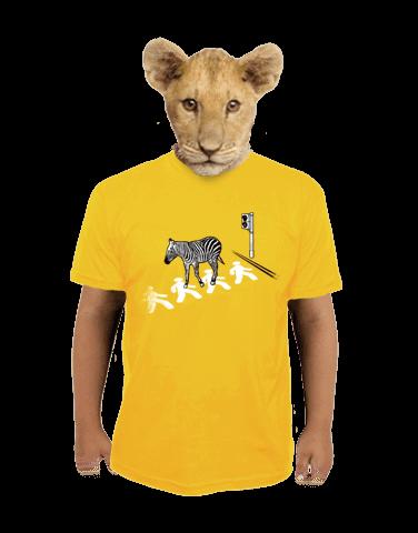Zebra dětské tričko