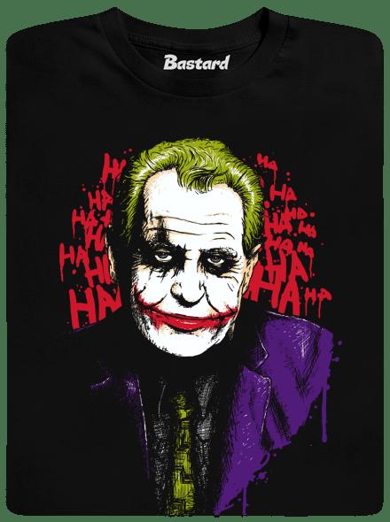 Bastard Zeman Joker pánské tričko – nový střih