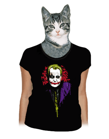 Zeman Joker dámské tričko