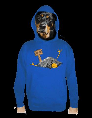 Sova spálená pánská mikina